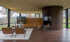 The Glass House by Philip Johnson | HomeAdore