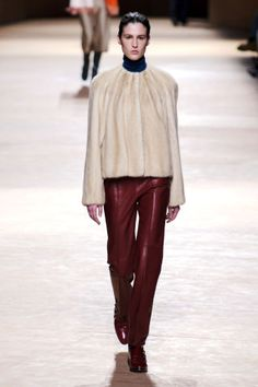 Hermes Fall 2015. See all the best runway looks from Paris Fashion Week here: