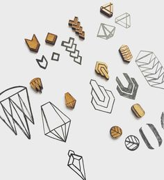 Sketching up some new earring design and packaging! #wood #jewelry #laser…