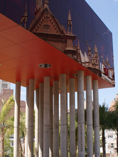 Paseo del Buen Pastor y reflejo de Iglesia de los Capuchinos | Cordoba, Argentina