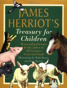 Not a movie, but books are entertainment. James Herriot's Treasury for Children: Warm and Joyful Tales by the Author of All Creatures Great and Small