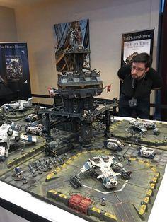 Warhammer 40k Necrons, Warhammer 40k Figures, Warhammer Terrain, Warhammer Models, Wargaming Table, Wargaming Terrain, Game Terrain, 40k Terrain, Warhammer Imperial Guard