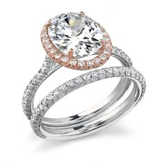 This looks exactly like my engagement ring except for the entire thing is rose gold and the center stone is Morganite, not a diamond. I want my band to be exactly like THIS tiny delicate band shown - LOVE LOVE LOVE!