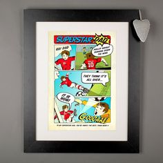 Personalised Print - Superstar Dad | GettingPersonal.co.uk