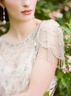 TOTALLY and COMPLETELY IN LOVE with this Jenny Packham creation! Photography by ktmerry.com