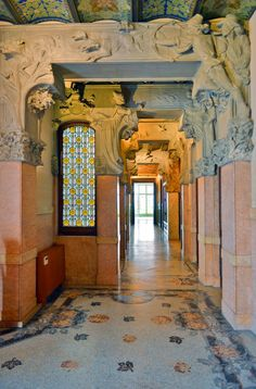 Casa Lleo Morera, Barcelona, Spain | La Casa Lleó i Morera es un edificio protegido de principios del ...