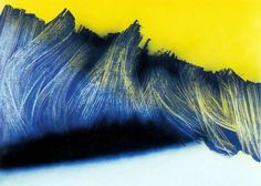 Abstract paintings by Hans Hartung CCBB taken in exhibition - Art on the Edge Gallery