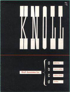 vintage Knoll ad - Ladislav Sutnar