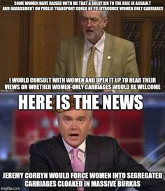 Jeremy Corbyn gets misquoted -- aka FAKE NEWS!!!