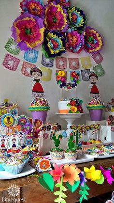 Frida Fiesta Mexicana | CatchMyParty.com