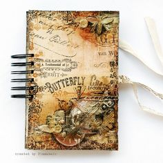 Golden Tea Journal by finnabair, via Flickr