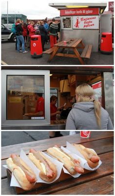 reykjavik hot dogs---- Former president, Bill Clinton dined there at one time... And loved it!!!! downtown Reykjavík, close to the harbour...
