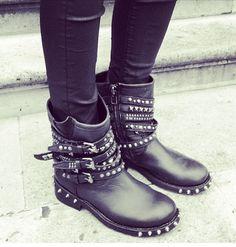 Ash 'Temptation' biker boots #ss14 #newin http://www.ashfootwear.co.uk/search/temptation