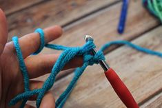 Háčkovaná chobotnička - návod - MoVe materiál