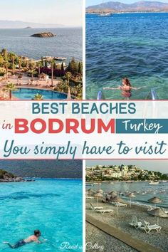 Did you know that Bodrum has some of the best beaches in Turkey? Some of them are perfect for a family visit, others for windsurfers, divers or just relaxed holiday. Check them out and plan your next adventure! #bestofturkey #turkeytravel #turkeybeaches #turkey Beach Trip, Beach Vacations, Beach Travel, Summer Travel, European Travel, Asia Travel, Cool Places To Visit, Places To Travel, Turkey Travel