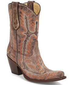 Corral Embroidered Cowboy Boot at Buckle.com