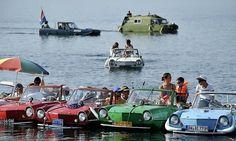 car boats in St.Blaise, Switzerland