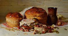 Хлеб и клубника50x90, автор Николаев Юрий. Артклуб Gallerix