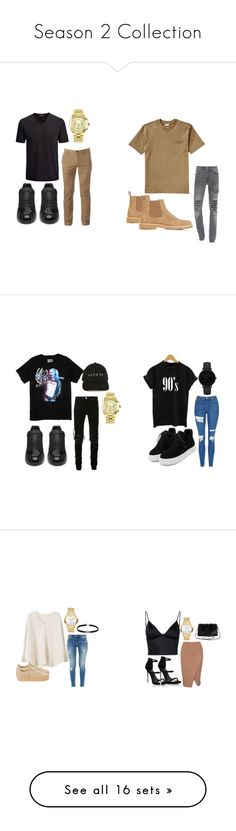 """""""Season 2 Collection"""" by jadeonmadkins ❤ liked on Polyvore featuring Joseph, Urban Pipeline, Balenciaga, Michael Kors, Filson, A.P.C., men's fashion, menswear, Topshop and WithChic"""