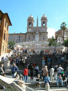 Scalla di Spagna, Roma - August 2010