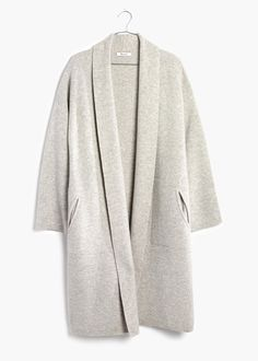 madewell rivington sweater coat