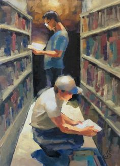 MORE TIPS ABOUT SKETCHING PEOPLE IN PUBLIC PLACES by TOM BROWN, painting by artist Tom Brown