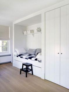 Habitaciones juveniles blancas: inspiración, ideas, fotografías de habitaciones juveniles decoradas en blanco, de estilo nórdico escandinavo. ¡Te gustará!