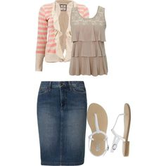 ruffles by modestfashions99 on Polyvore