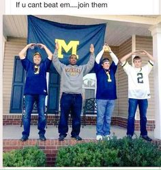 You know you're awesome when Xichigan is even routing for Ohio State!! Hahaha
