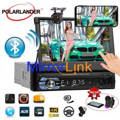 Mirror Link, Mp5, Sd Card, Languages, Audio, Touch, Electronics, Free Shipping, Idioms