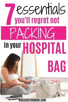 Are you a mom to be wondering what to pack in your hospital bag? This hospital bag checklist is perfect for first time moms whether you have a c-section or natural birth. Find out what to pack for yourself, baby, and dad! Packing Hospital Bag, Hospital Bag Checklist, Getting Pregnant With Twins, Pregnant Mom, Mom Survival Kit, Survival Guide, Hospital Bag For Mom To Be, Breastfeeding Positions, Going Home Outfit