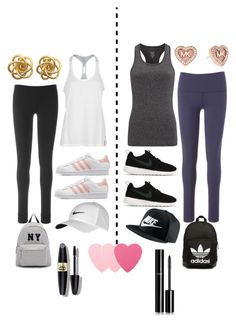 """""""Which style is ur style wait that sounded weird anyway comment!"""" by maymaa1234 ❤ liked on Polyvore featuring Under Armour, Sweaty Betty, Roxy, Beyond Yoga, NIKE, adidas Originals, Joshua's, Michael Kors, Sephora Collection and Max Factor"""