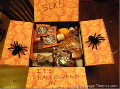 Cute Halloween care package ideas!