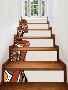 Inspire Me Home Decor, Diy Home Decor, Bedroom Vintage, Home Interior, Interior Decorating, African Living Rooms, African Bedroom, African Interior Design, Stair Stickers