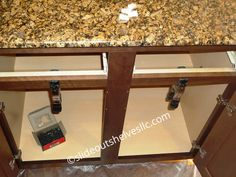 Step 4. Remove Center Stile Cabinet Face Frame Kitchen Island With Sink And Dishwasher, Moveable Kitchen Island, How To Remove Kitchen Cabinets, Kitchen Cabinet Shelves, Diy Kitchen Island, Diy Kitchen Storage, Kitchen Cabinet Design, Kitchen Ideas, Kitchen Organization