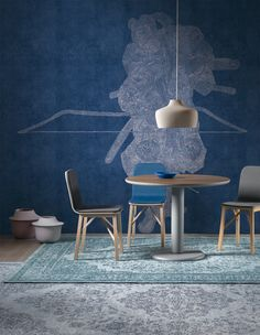 paolo cappello re-imagines ancient japanese art for tangles wallpapers