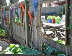 shovels as yard art...I like it!!