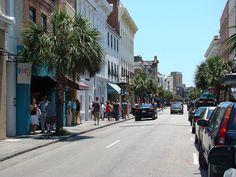 historic king street in Charleston, SC Charleston Sc, Darkness, Street View, King, Charleston South Carolina