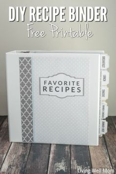 Ordner Recipe Binder Decorate Your Home Like a Pro with These Easy Steps You've moved Making A Cookbook, Homemade Cookbook, Cookbook Ideas, Cookbook Display, Fixate Cookbook, Cookbook Storage, Cookbook Design, Kids Cookbook, Cookbook Recipes
