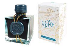 "Goulet Pens Blog: J.Herbin ""Emerald of Chivor"" shimmering fountain pen ink"