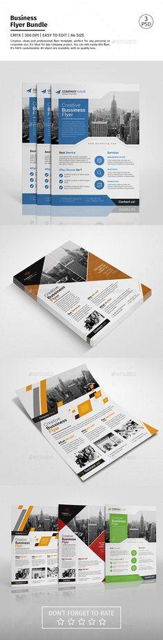 Corporate Flyer Template PSD Bundle. Download here: http://graphicriver.net/item/corporate-flyer-bundle-01/15218049?ref=ksioks