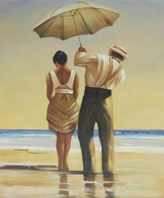 The Painting of the Day is Jack Vettriano's 'Mad Dogs'. This painting would look perfect in a bright living room. It's beautiful! We have a large hand painted replica as the daily deal at www.TheGreatCanvas.com