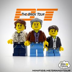 custom printed LEGO top gear grand tour minifigs And there goes my next paycheck