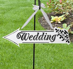 Buy Creative White Wooden Wedding Direction Arrow Sign Wedding Ceremony Reception Decoration at Home - Design & Decor Shopping Wedding Reception Signs, Wooden Wedding Signs, Wedding Ideas, Wedding Letters, Wedding Entrance, Reception Party, Trendy Wedding, Wood Wedding Decorations, Ceremony Decorations