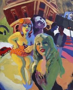 Wendy Sharpe - King Street Gallery on William Australian Painters, Australian Artists, Henry Thomas, Street Gallery, Anatomy Drawing, Postmodernism, Contemporary Paintings, Sketches, Drawings