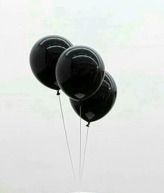 black, balloons, and white resmi