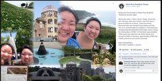 Kelsey and Tessa Asato of WRBT, visit Hiroshima Peace Memorial and Okinawa Peace Memorial Parks - June 2014