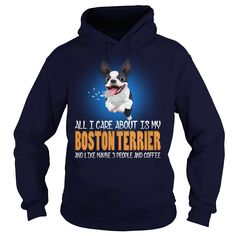 Boston Terrier I Care About My Boston Terrier Dog