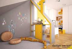 Pokój dziecka styl Nowoczesny - zdjęcie od design me too Showroom, Boy Room, Child's Room, Rooms Home Decor, Kids Bedroom, Modern Design, Toddler Bed, Architecture, Contemporary