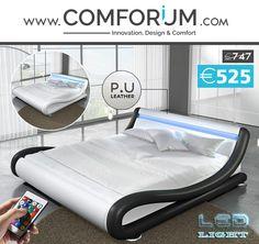 Lit design avec led - comforium.com